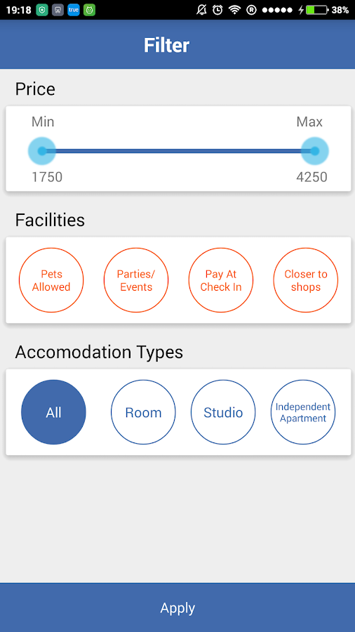 TrustedStay Serviced Aparments- screenshot
