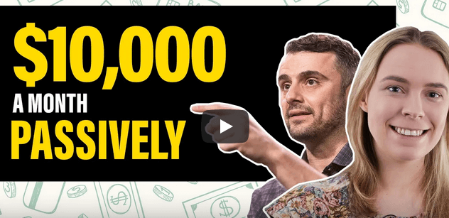 How I make $10k a month with passive income Sarah Chrisp of ecomm clubhouse repsonse the garyvee