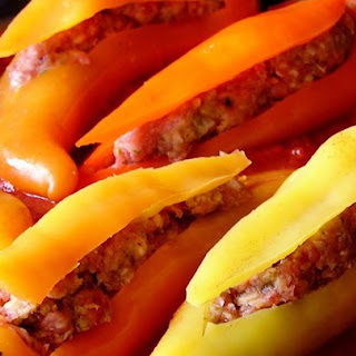 Stuffed Banana Peppers With Cheese And Sausage Recipes