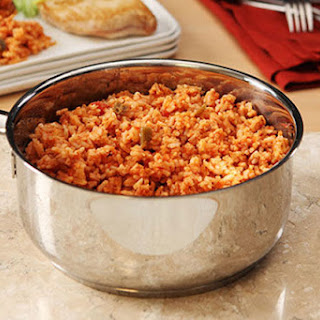 10-Minute Cheesy Mexican Rice