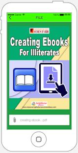 Creating Ebooks For Illiterates eBook ✔️ for PC-Windows 7,8,10 and Mac apk screenshot 3