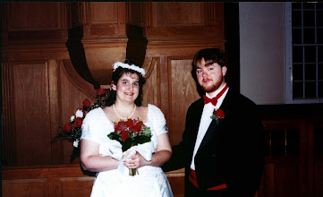 Photo: Our wedding on March 24, 2001.