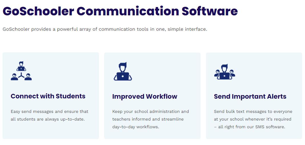 school messaging system app