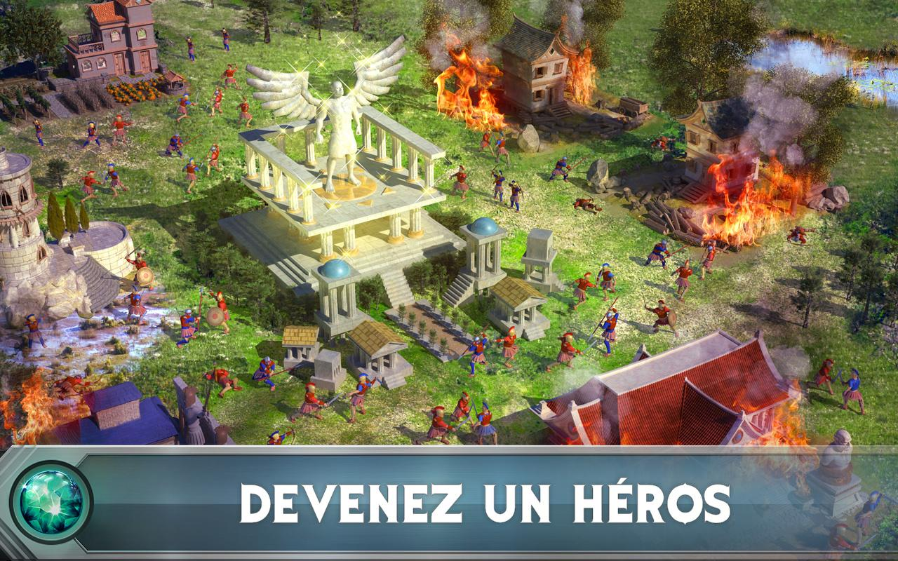 Game of War - Fire Age – Capture d'écran