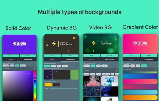 PixelFlow - Intro maker and text animator screenshot 2