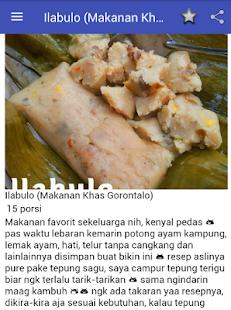 Resep Masakan Khas Gorontalo - náhled