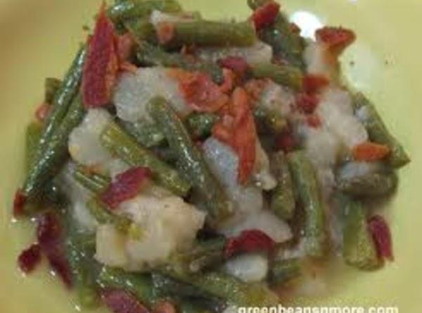 Green Beans In Sour Cream Sauce Recipe