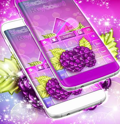 Blackberries Keyboard - screenshot