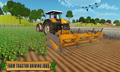 Farming Tractor Driver Simulator : Tractor Games apktreat screenshots 1
