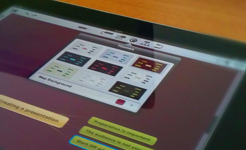 Photo: Themes menu