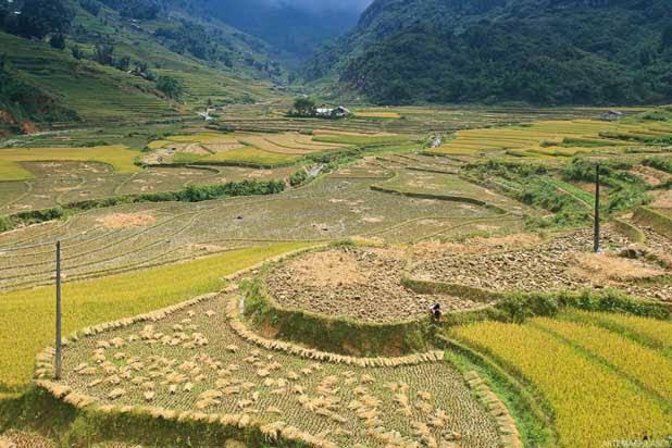 The spectacular North Vietnam biking