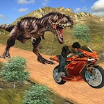 Bike Racing Dino Adventure 3D Icon