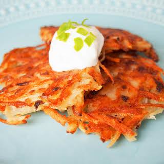 German potato pancakes (for Oktoberfest).