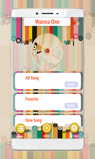 Game Wanna One Piano Tiles