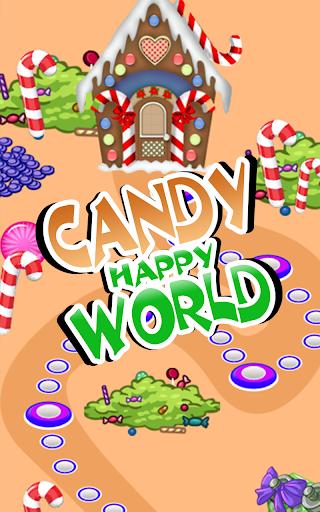 해피 사탕 세계