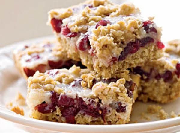 Cranberry Crunch Bars image