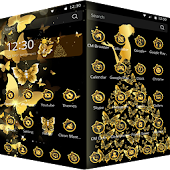 Gold Butterfly Dream Theme