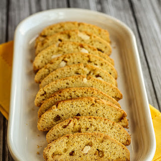 Citrus Olive Oil Biscotti with White Chocolate Chunks.
