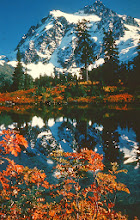 Photo: 33. Mt. Shuksan from Picture Lake. Mt. Shuksan is just inside the proposed North Cascades Park; the lake is just outside it.