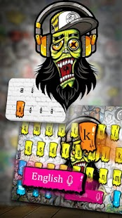 Graffiti Art Keyboard - náhled