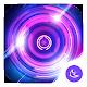 Shine Purple Glow Wheel theme & HD wallpapers apk
