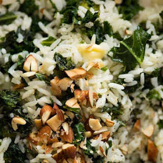 Garlic Butter Kale Rice.