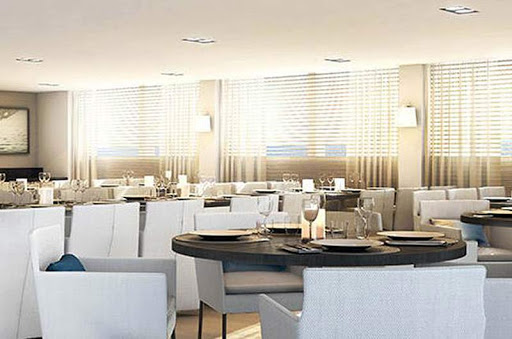le-lyrial_dining2.jpg - Dine in a casual, stylish setting aboard Ponant's Le Lyrial.