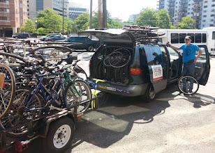 Photo: Bike Kitchen donation