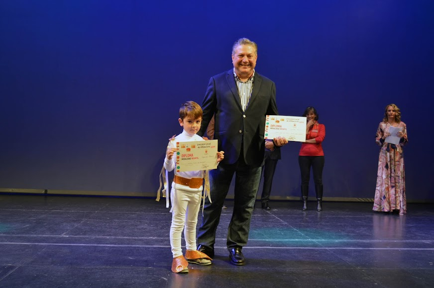 AMPA Viva mi Escuela, segundo premio infantil.