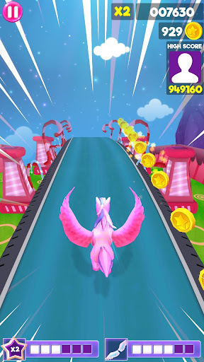 Unicorn Runner 2020: Running Game. Magic Adventure filehippodl screenshot 9