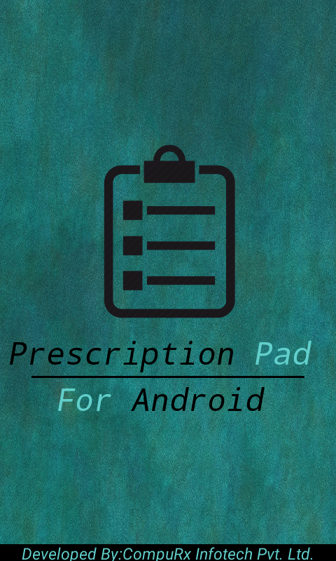 Prescription Pad Pro Trial- screenshot
