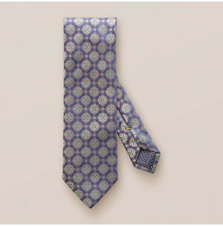 ETON Jazz blue medallion square tie