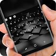 Black Cube Cool Keyboard for Huawei 10 apk
