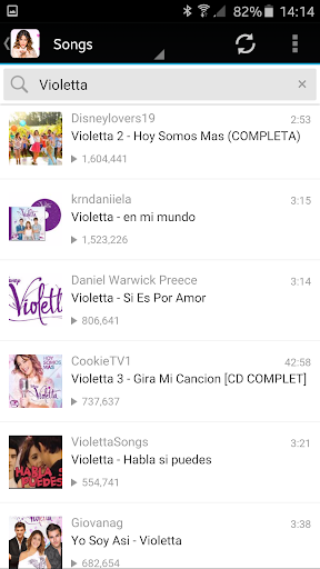 Violetta Songs Lyrics