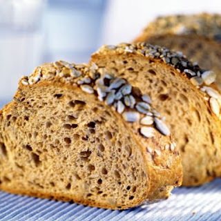 Seeded Rice, Potato and Almond Loaf