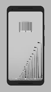 Achromatic KWGT screenshot