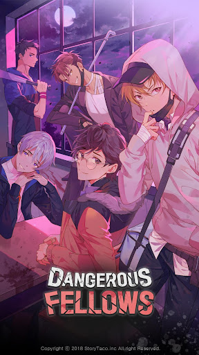 Code Triche Dangerous Fellows:  your Thriller Otome game APK MOD (Astuce) screenshots 1