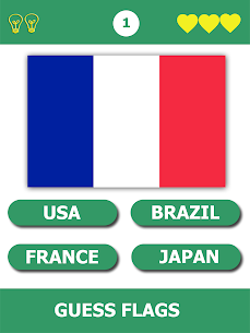 Flag Quiz Gallery : Quiz flag name and color 4