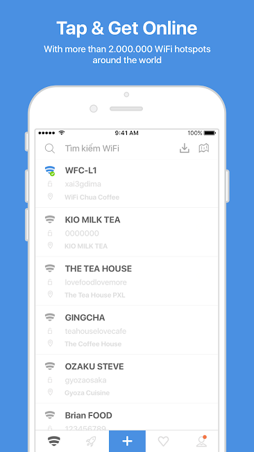 #1. WiFi Chùa - Free WiFi password (Android)
