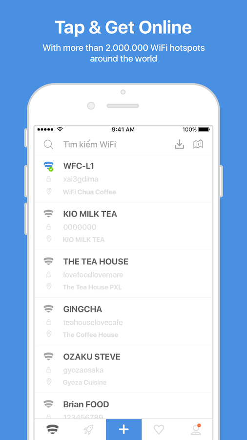 WiFi Chùa - Free WiFi password- screenshot
