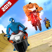 Super Hero Bike Mega Ramp 3 MOD APK 1.1 (Free Shopping)