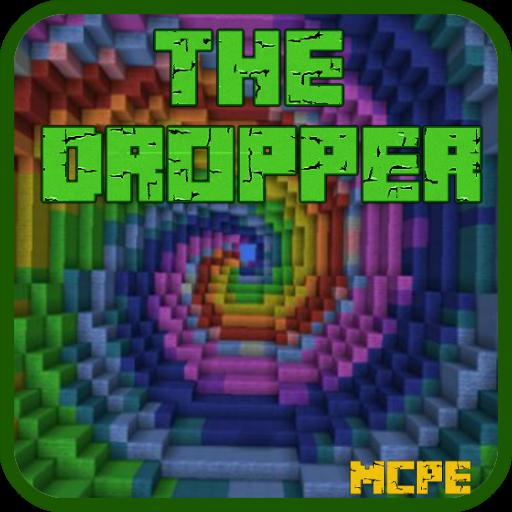 minecraft maps pe dropper