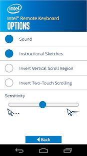 Intel® Remote Keyboard screenshot