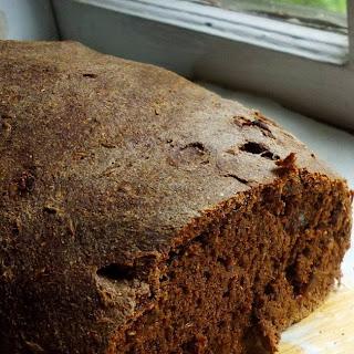 Pumpernickel Rye Bread.