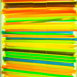 Luminous Sticks by Koh Chip Whye - Abstract Patterns