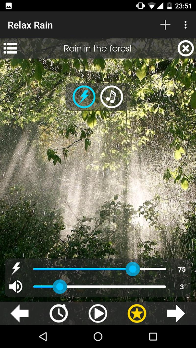 Relax Rain ~ Rain Sounds Screenshot 1