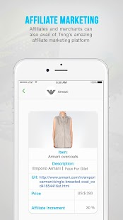 Tring - Social Commerce App- screenshot thumbnail