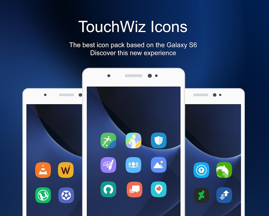 TouchWiz - Icon Pack – (Android Apps) — AppAgg