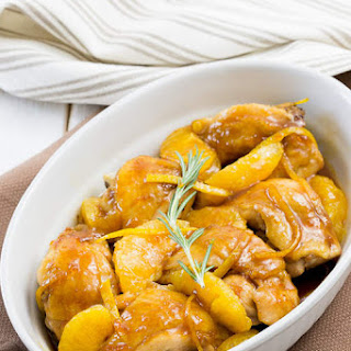 Chicken Thighs with Orange Marmalade