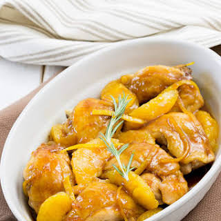 Chicken Thighs with Orange Marmalade.